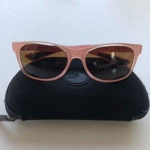 Costa pink polarized sunglasses